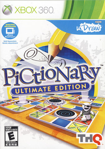 uDraw Pictionary - Ultimate Edition (XBOX360) XBOX360 Game