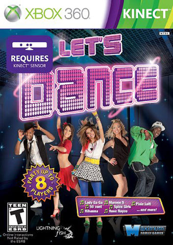 Let's Dance (Kinect) (XBOX360) XBOX360 Game