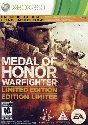 Medal Of Honor - Warfighter (Limited Edition) (Bilingual Cover) (XBOX360) XBOX360 Game