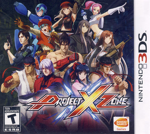 Project X Zone (3DS) 3DS Game