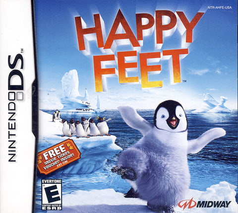 Happy Feet (DS) DS Game