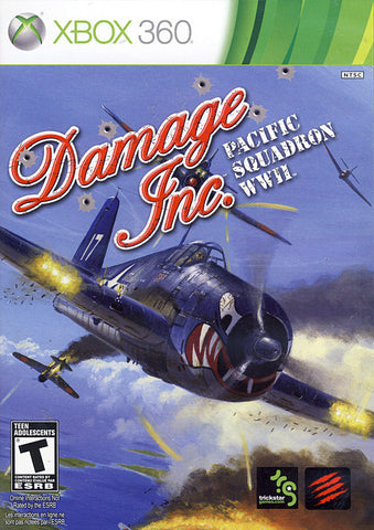 Damage Inc. - Pacific Squadron WWII (Bilingual Cover) (XBOX360) XBOX360 Game
