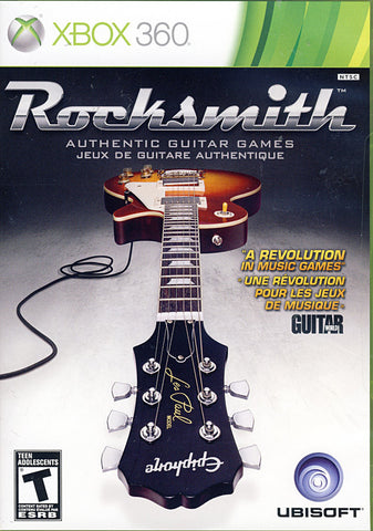 Rocksmith (Game Only) (XBOX360) XBOX360 Game