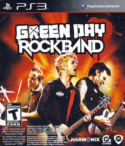 Green Day - RockBand (PLAYSTATION3) PLAYSTATION3 Game