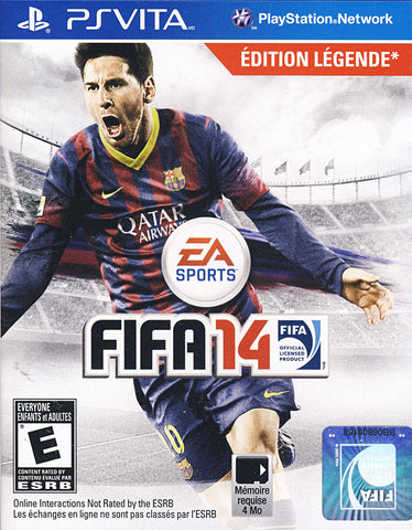 FIFA 14 (French Version Only) (PS VITA) PS VITA Game