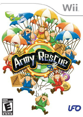 Army Rescue (Bilingual Cover) (NINTENDO WII) NINTENDO WII Game
