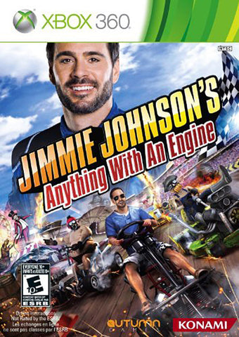Jimmie Johnson s - Anything With An Engine (Trilingual Cover) (XBOX360) XBOX360 Game