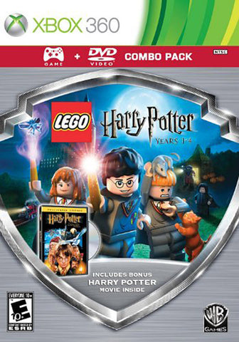 LEGO Harry Potter - Years 1-4 (Silver Shield Combo Pack) (XBOX360) XBOX360 Game
