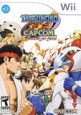 Tatsunoko vs. Capcom - Ultimate All-Stars (NINTENDO WII) NINTENDO WII Game