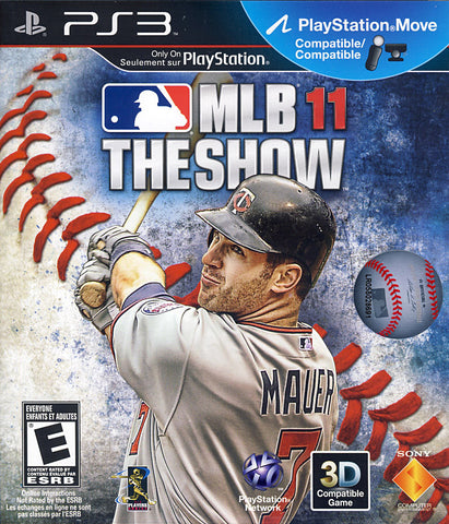 MLB 11 - The Show (Bilingual Cover) (PLAYSTATION3) PLAYSTATION3 Game