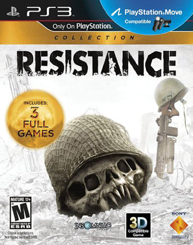 Resistance Trilogy Collection (PLAYSTATION3) PLAYSTATION3 Game