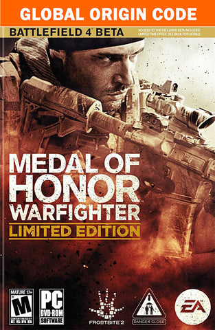 Medal Of Honor - Warfighter (Limited Edition) (PC) PC Game
