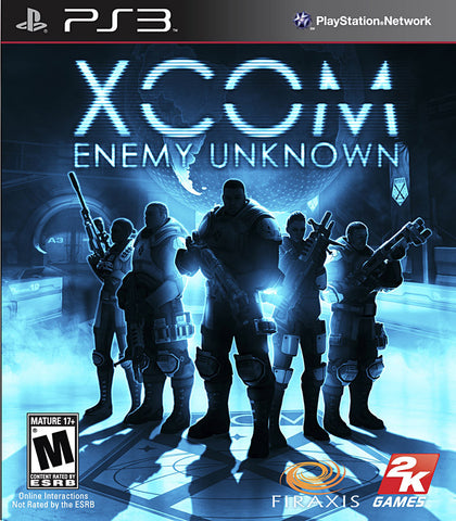 XCOM - Enemy Unknown (PLAYSTATION3) PLAYSTATION3 Game