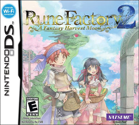 Rune Factory 2 - A Fantasy Harvest Moon (DS) DS Game