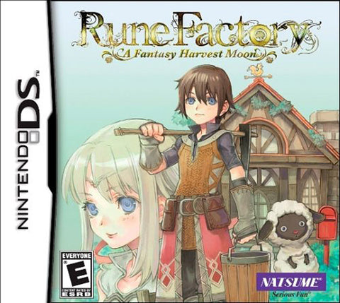 Rune Factory - A Fantasy Harvest Moon (DS) DS Game