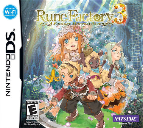Rune Factory 3 - A Fantasy Harvest Moon (DS) DS Game