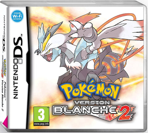 Pokemon version blanche 2 (french version only) (DS) DS Game
