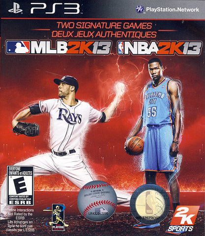 MLB 2K13 / NBA 2K13 (2K Sports Combo Pack) (PLAYSTATION3) PLAYSTATION3 Game