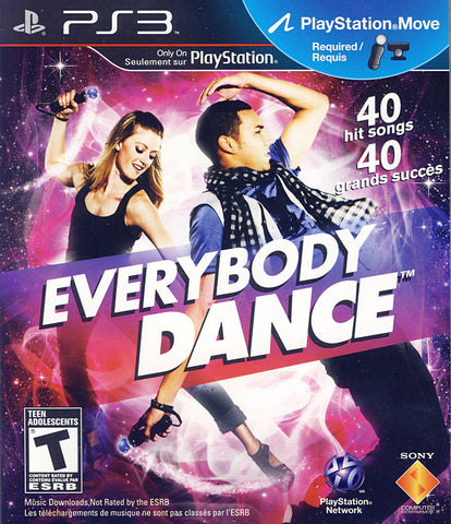 Everybody Dance (Playstation Move) (Bilingual Cover) (PLAYSTATION3) PLAYSTATION3 Game