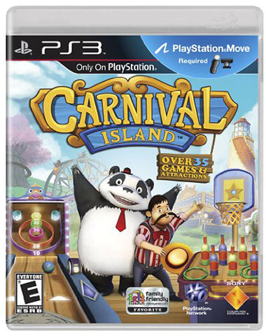 Carnival Island (Playstation Move) (PLAYSTATION3) PLAYSTATION3 Game