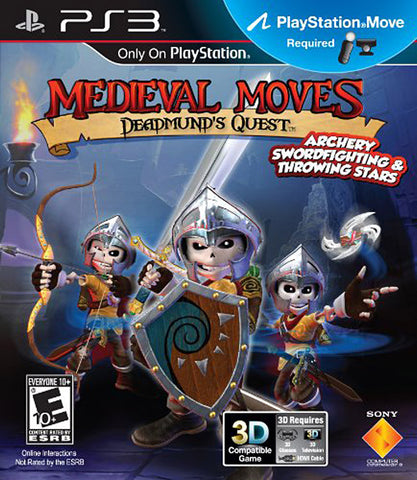 Medieval Moves - Deadmund s Quest (Playstation Move) (PLAYSTATION3) PLAYSTATION3 Game