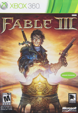 Fable III (3) (French Version Only) (XBOX360) XBOX360 Game