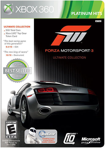 Forza Motorsport 3 - Version Ultimate(French version only) (XBOX360) XBOX360 Game
