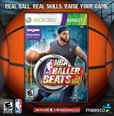 NBA Baller Beats (Basketball Included) (Kinect) (XBOX360)
