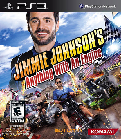 Jimmie Johnson s - Anything With An Engine (Trilingual Cover) (PLAYSTATION3) PLAYSTATION3 Game