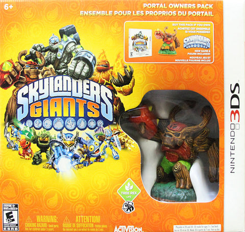 Skylanders Giants Portal Owner Pack (Bilingual Cover) (3DS) 3DS Game