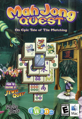 Mahjong Quest - An Epic Tale of Tile Matching (PC) PC Game