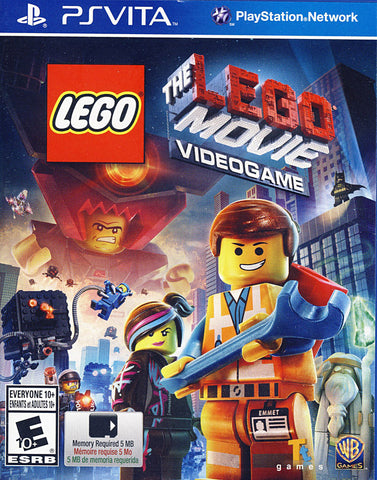 The LEGO Movie - Videogame (PS VITA) PS VITA Game