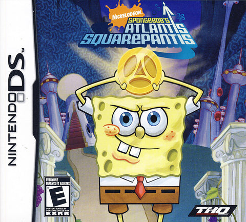 Spongebob - Atlantis Squarepantis (DS) DS Game