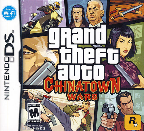 Grand Theft Auto - Chinatown Wars (DS) DS Game