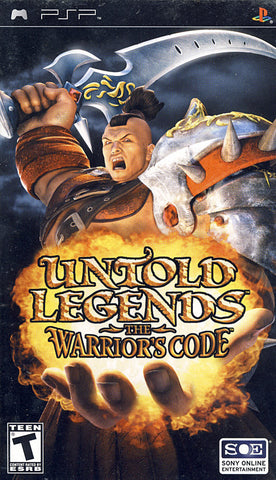 Untold Legends - The Warriors Code (PSP) PSP Game