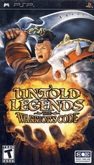 Untold Legends - The Warriors Code (PSP)