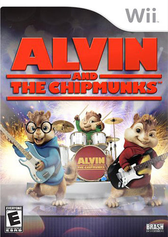 Alvin And The Chipmunks (NINTENDO WII) NINTENDO WII Game