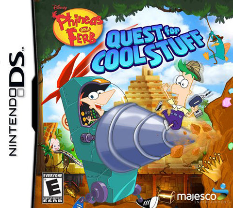 Phineas and Ferb - Quest for Cool Stuff (Bilingual Cover) (DS) DS Game