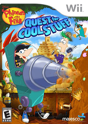 Phineas and Ferb - Quest for Cool Stuff (NINTENDO WII) NINTENDO WII Game