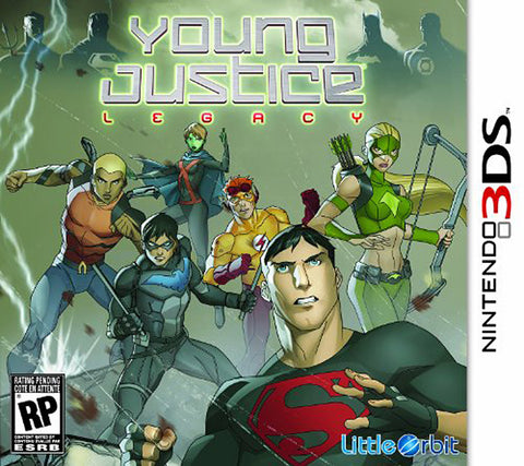 Young Justice - Legacy (Trilingual Cover) (3DS) 3DS Game
