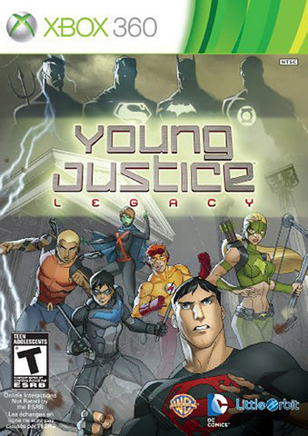 Young Justice - Legacy (Trilingual Cover) (XBOX360) XBOX360 Game