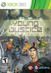 Young Justice - Legacy (Trilingual Cover) (XBOX360)