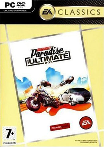 Burnout Paradise - The Ultimate Box (European) (PC) PC Game