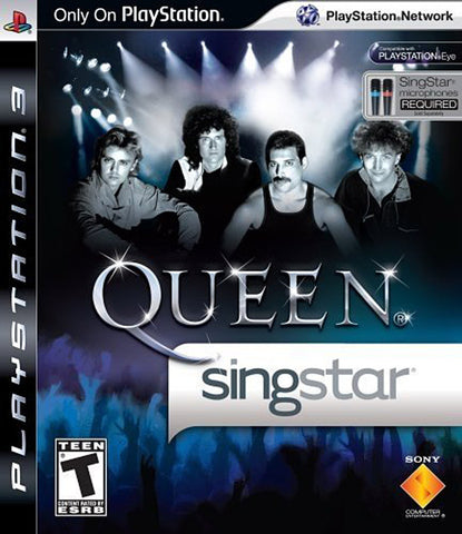 SingStar Queen (PLAYSTATION3) PLAYSTATION3 Game
