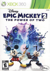 Disney Epic Mickey 2 - The Power of Two (Bilingual Cover) (XBOX360)