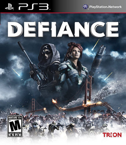 Defiance (Bilingual Cover) (PLAYSTATION3) PLAYSTATION3 Game