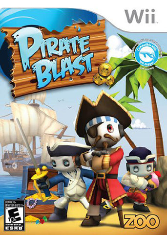 Pirate Blast (Bilingual Cover) (NINTENDO WII) NINTENDO WII Game