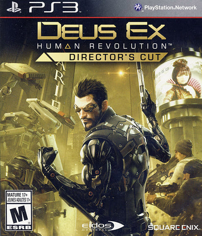 Deus Ex - Human Revolution (Director s Cut) (Bilingual Cover) (PLAYSTATION3) PLAYSTATION3 Game