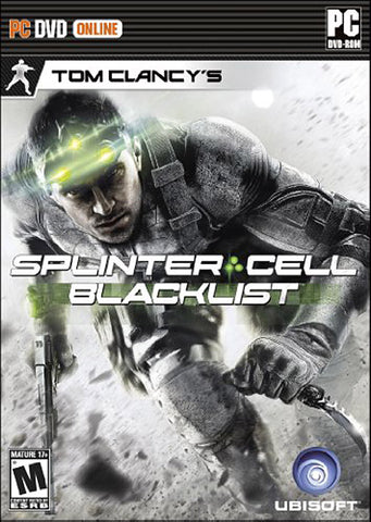 Tom Clancy s Splinter Cell - Blacklist (Trilingual Cover) (PC) PC Game