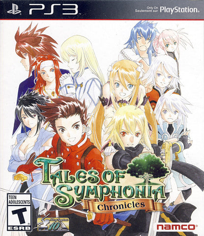 Tales of Symphonia - Chronicles (PLAYSTATION3) PLAYSTATION3 Game